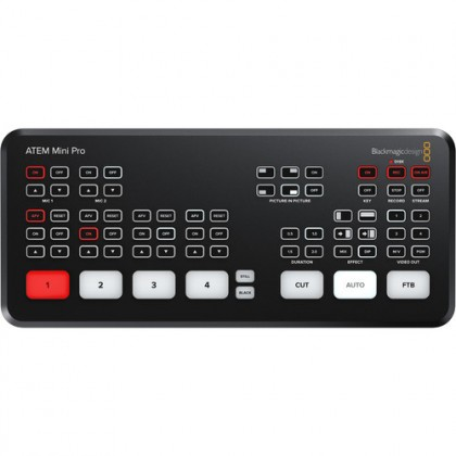 READY STOCK Blackmagic Design ATEM Mini Pro HDMI Live Stream Switcher