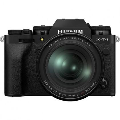 [Pre Order] FUJIFILM X-T4 Mirrorless Digital Camera with 16-80mm Lens (Black)