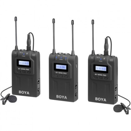 Boya BY-WM8 Pro K2 Dual Channel Wireless Microphone System