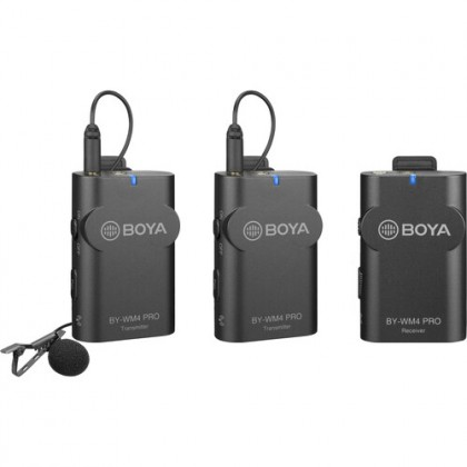 Boya BY-WM4 Pro K2 Wireless Microphone for Smartphone Mobile Phone