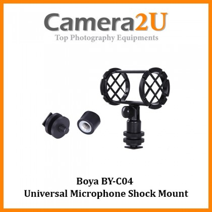 Boya BY-C04 Universal Microphone Shock Mount for RODE NT4