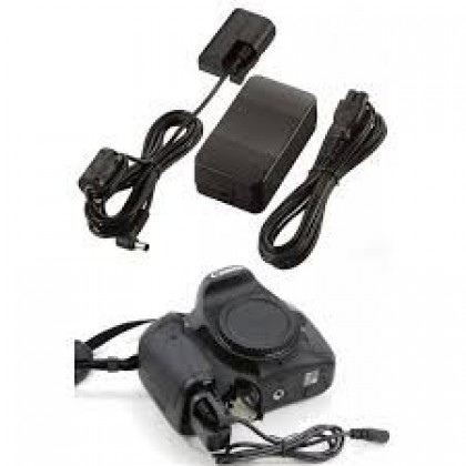 AC Power Adapter ACK-E6 Direct Power for Canon EOS 7D 5D MK II III