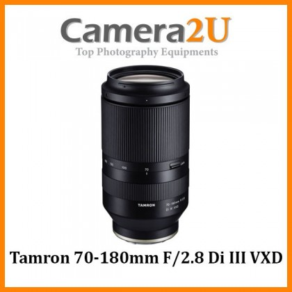 Tamron 70-180mm F/2.8 Di III VXD Lens For Sony E / FE Mount (MSIA)