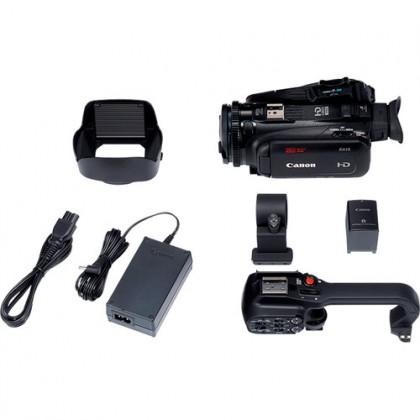 Canon XA15 Compact Full HD Camcorder with SDI HDMI Composite Output + Extra Ori BP820 Battery (MSIA)
