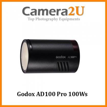 Godox AD100 Pro 100Ws TTL 2.4G HSS 1/8000s Pocket Flash Light 2600mAh Lithium Battery