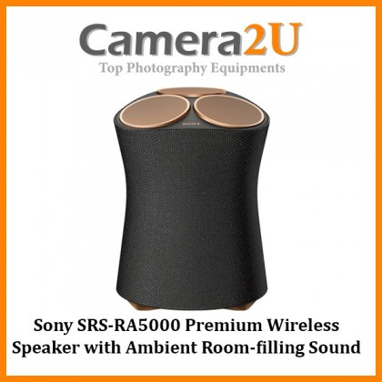 Sony SRS-RA5000 Premium Wireless Speaker with Ambient Room-filling Sound