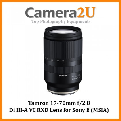 Tamron 17-70mm f/2.8 Di III-A VC RXD Lens for Sony E (MSIA)