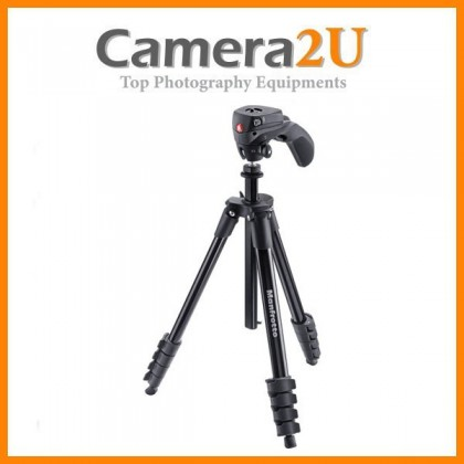 Manfrotto Compact Action Aluminum Tripod